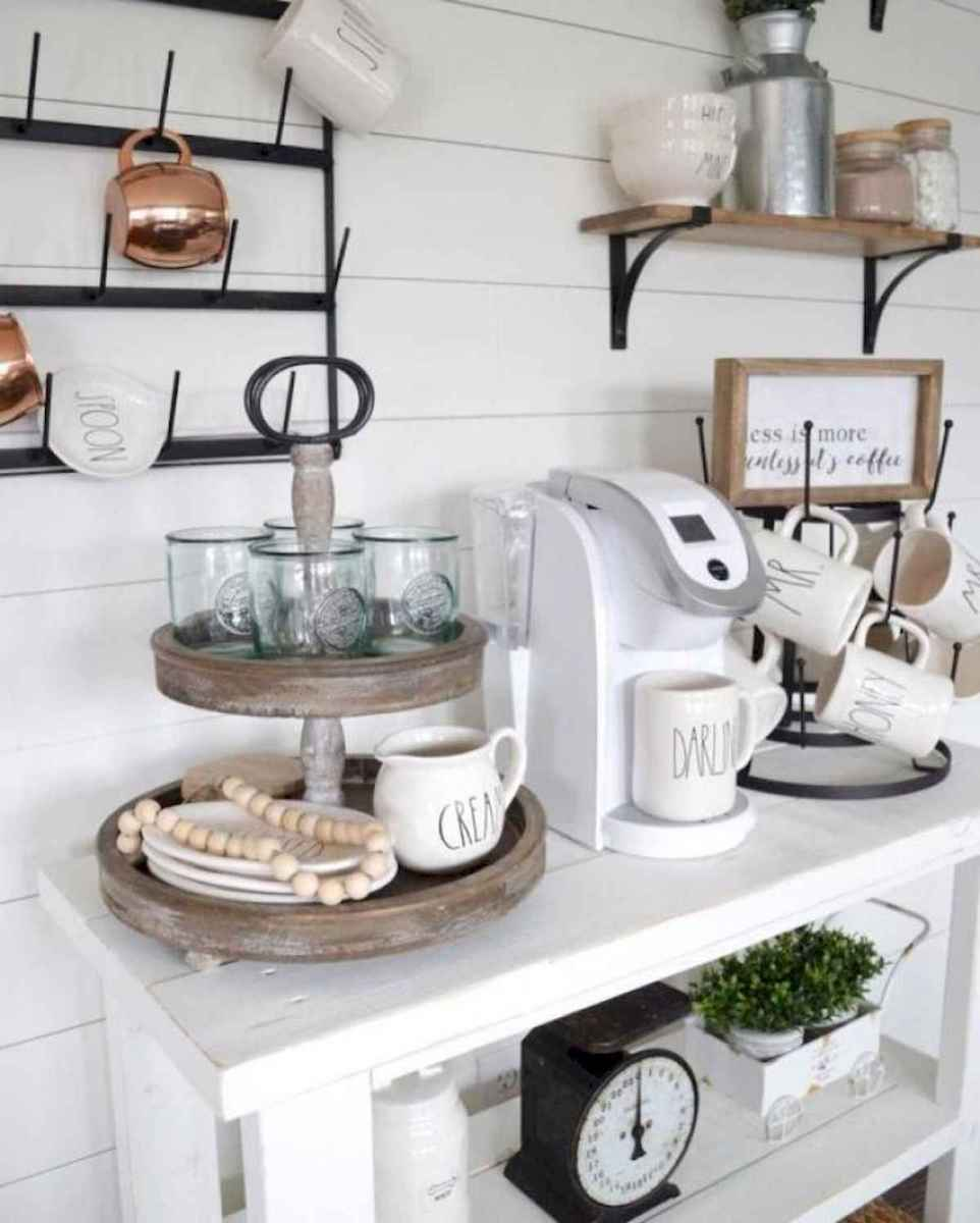 32 Awesome DIY Mini Coffee Bar Design Ideas For Your Home (20)