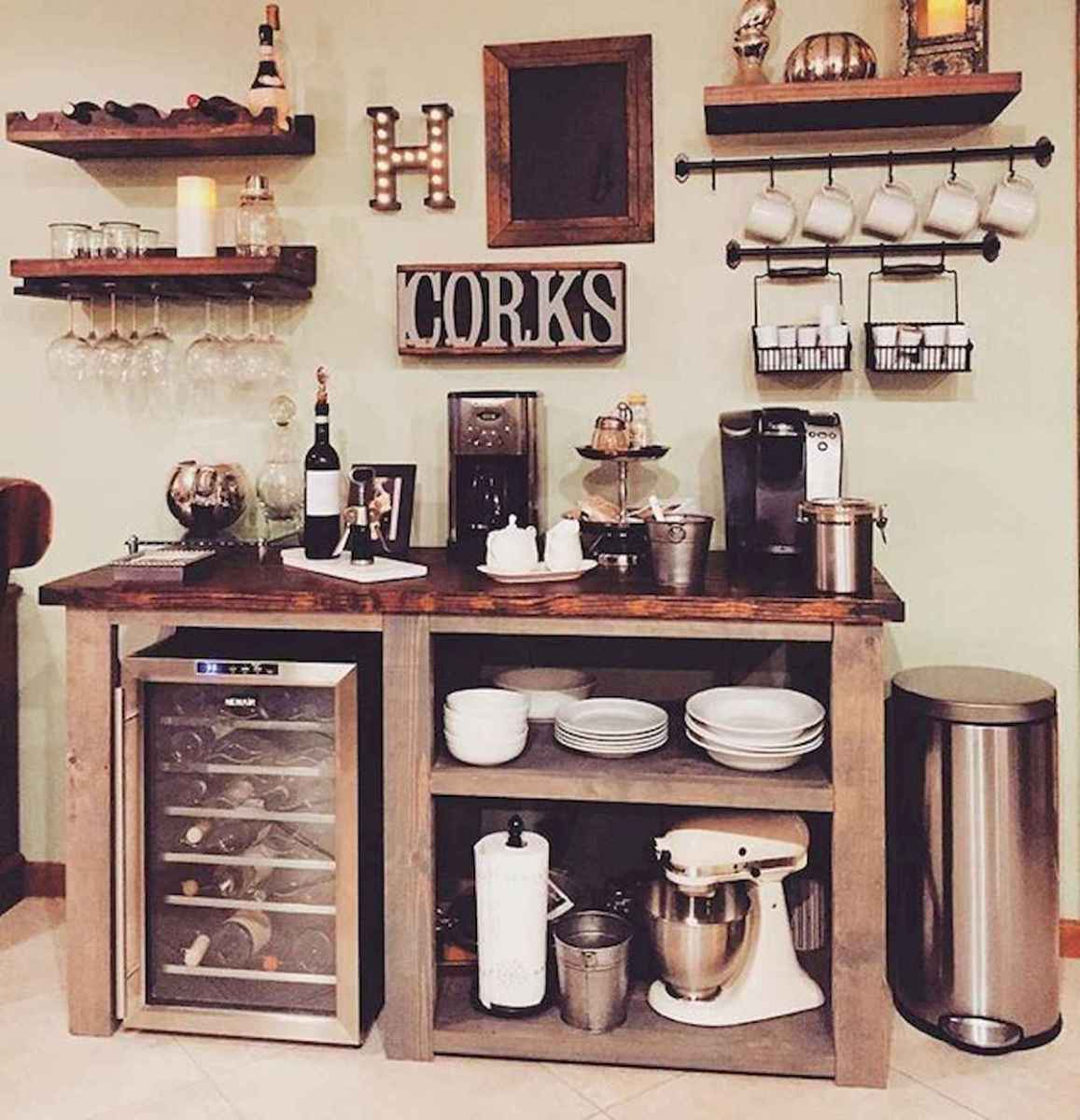 32 Awesome DIY Mini Coffee Bar Design Ideas For Your Home (6)