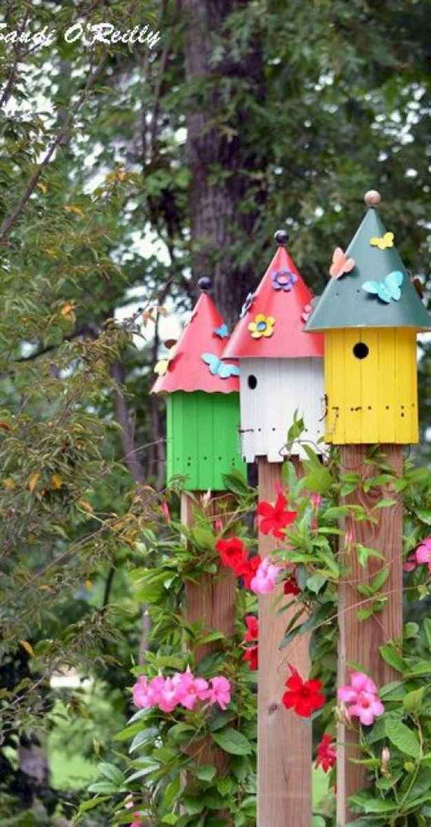 33 Awesome DIY Painted Garden Decoration Ideas for a Colorful Yard (32)