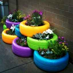 33 Awesome DIY Painted Garden Decoration Ideas for a Colorful Yard (7)