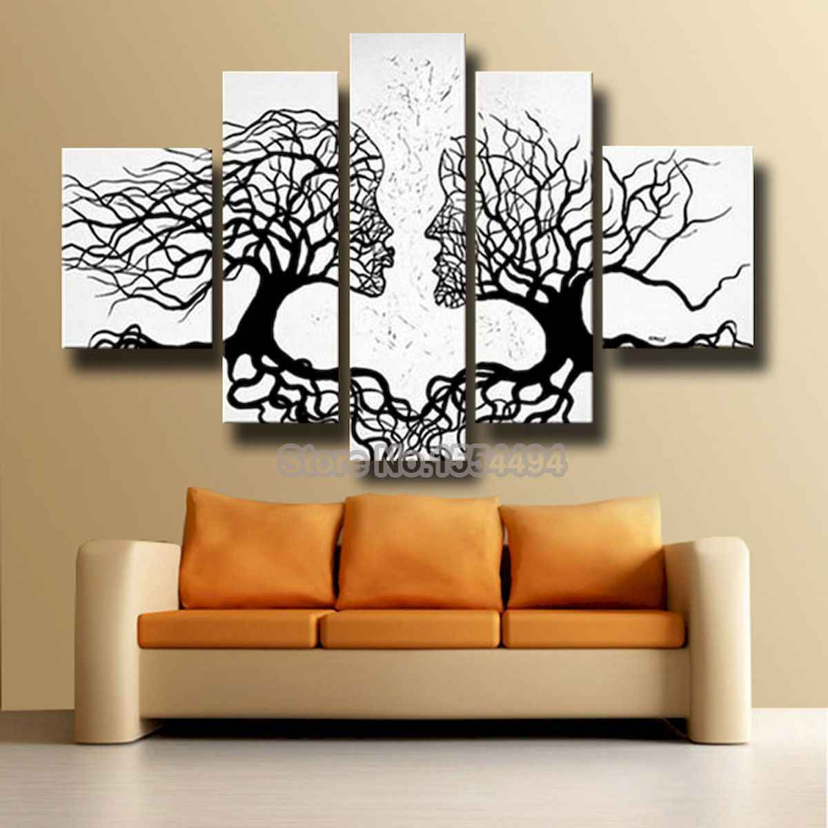 40 Awesome Wall Painting Ideas For Home (12)