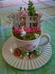 40 Easy DIY Teacup Mini Garden Ideas to Add Bliss to Your Home (7)