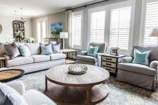50 Rustic Farmhouse Living Room Decor Ideas (34)