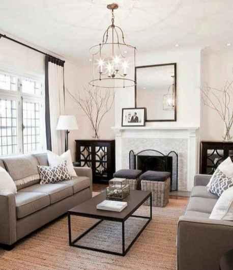 50 Rustic Farmhouse Living Room Decor Ideas (7)