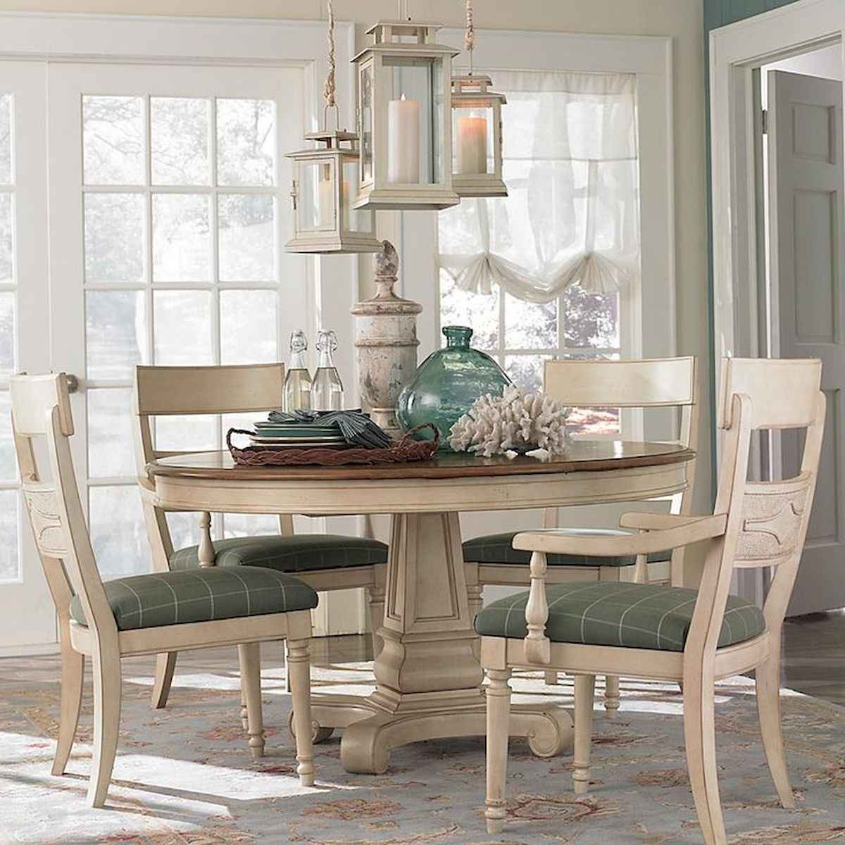 50 Vintage Dining Table Design Ideas And Decor (13)