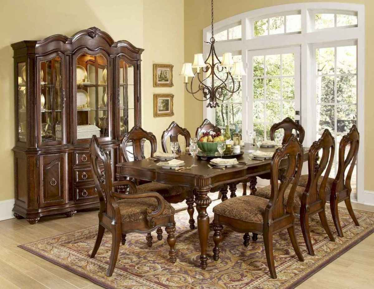50 Vintage Dining Table Design Ideas And Decor (8)