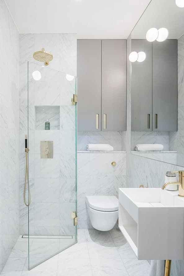 54 Amazing Small Bathroom Remodel Ideas (36)