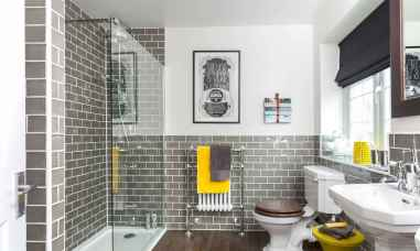 54 Amazing Small Bathroom Remodel Ideas (46)