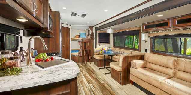 60 Best RV Living Ideas and Tips Remodel (10)