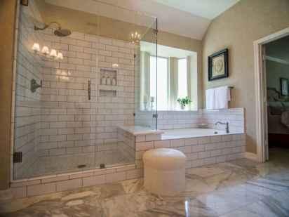 60 Master Bathroom Shower Remodel Ideas (31)