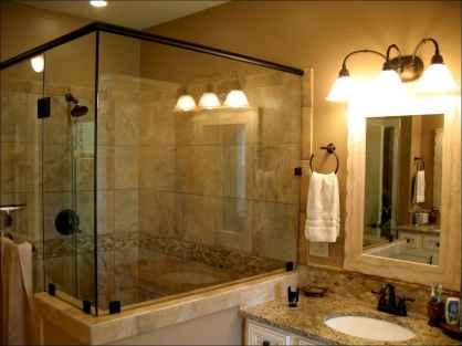 60 Master Bathroom Shower Remodel Ideas (41)