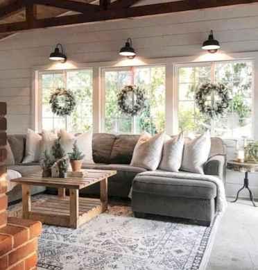 60 Modern Farmhouse Living Room Decor Ideas (26)