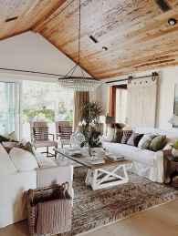 60 Modern Farmhouse Living Room Decor Ideas (31)