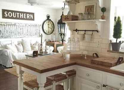 60 Stunning Farmhouse Home Decor Ideas On A Budget (55)