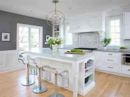 70 Luxury White Kitchen Design Ideas And Decor (28)