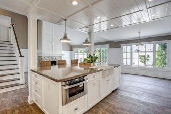 70 Luxury White Kitchen Design Ideas And Decor (4)