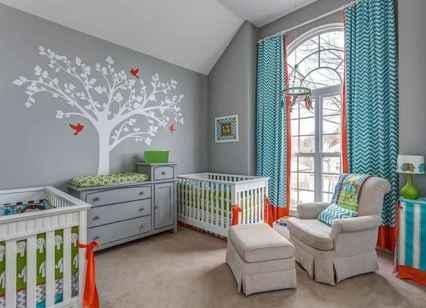 25 Adorable Nursery Room Ideas For Twins (11)