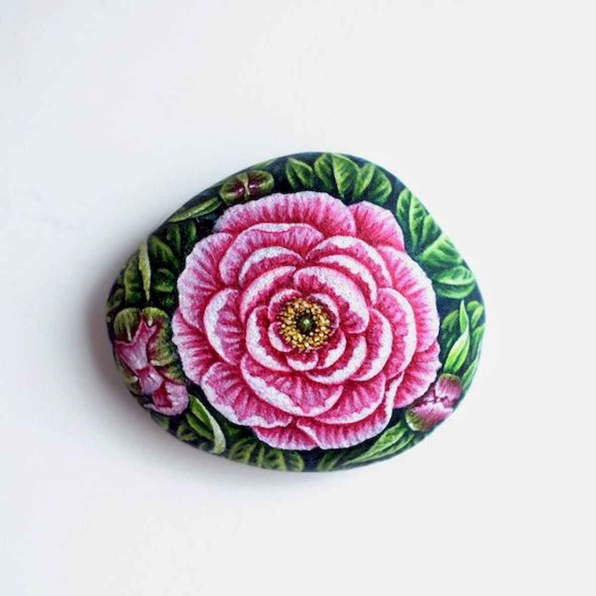 25 Gorgeous Painted Rocks Valentines Day Ideas (3)
