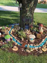 27 Beautiful And Easy Fairy Garden Ideas For Kids (15)
