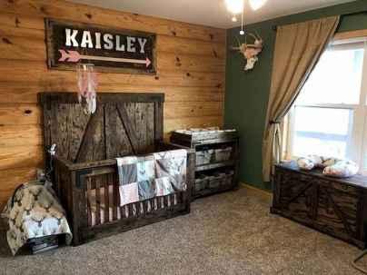 30 Adorable Rustic Nursery Room Ideas (15)