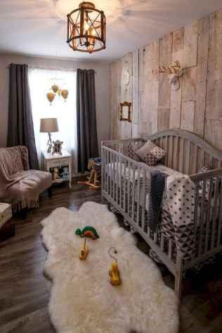 30 Adorable Rustic Nursery Room Ideas (23)