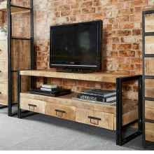 33 Best Farmhouse Living Room TV Stand Design Ideas (25)