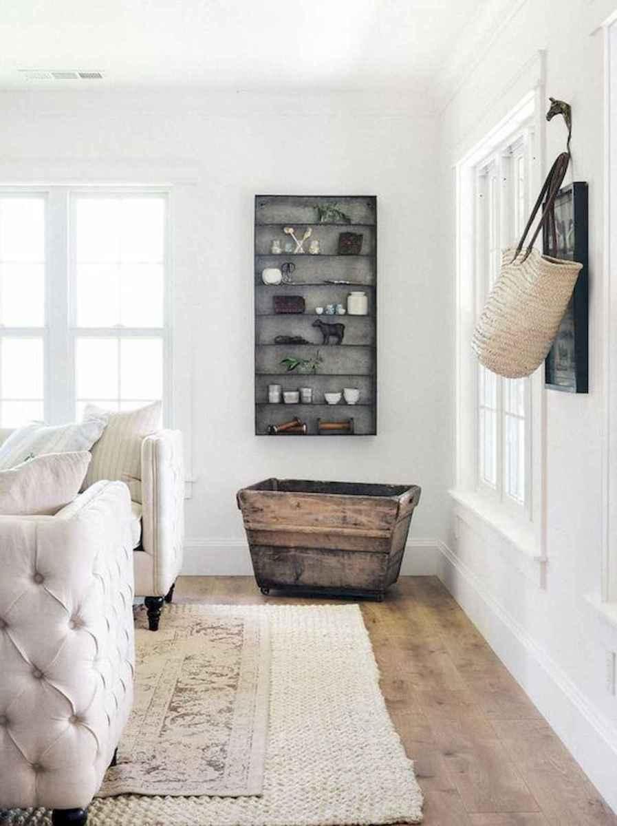 33 Farmhouse Living Room Flooring Ideas (24)