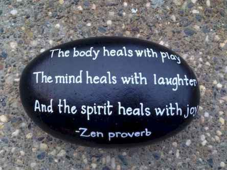 35 Awesome Painted Rocks Quotes Design Ideas (32)