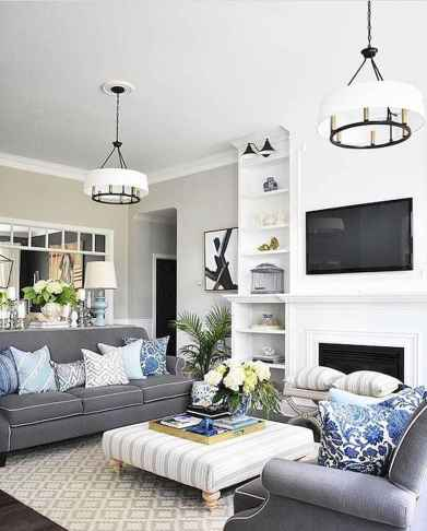 35 Awesome Rug Living Room Ideas (30)