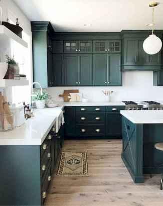 17 Best Green Kitchen Cabinets Design Ideas (15)