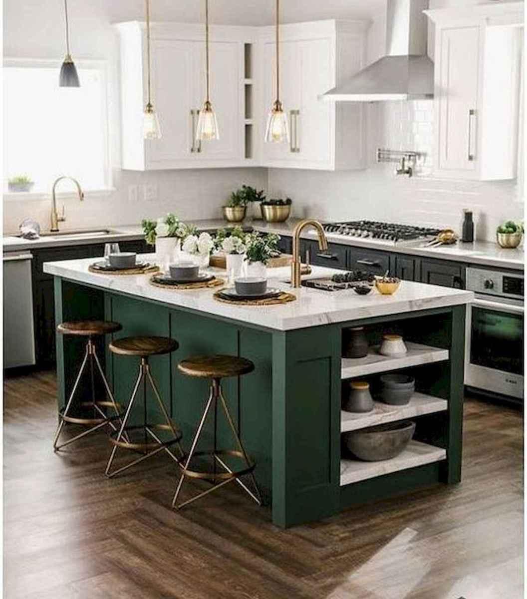 17 Best Green Kitchen Cabinets Design Ideas (9)