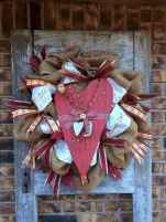 25 Easy DIY Valentines Wreath Ideas (25)