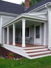40 Awesome Farmhouse Porch Design Ideas And Decorations (17)