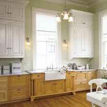 40 Best Farmhouse Kitchen Cabinets Design Ideas (23)