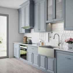 40 Best Farmhouse Kitchen Cabinets Design Ideas (6)