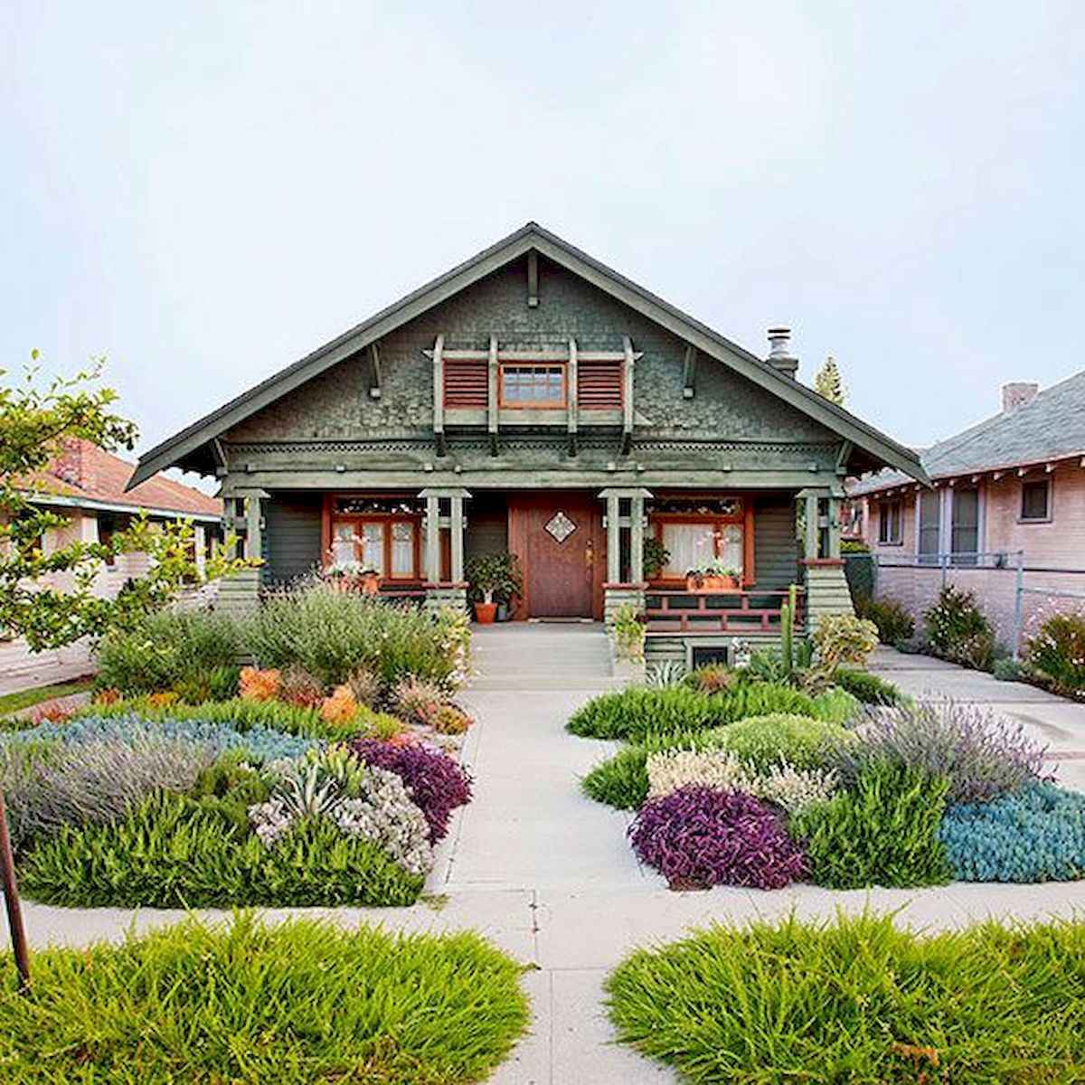 40 Cool Front Yard Garden Landscaping Design Ideas And Remodel (1)