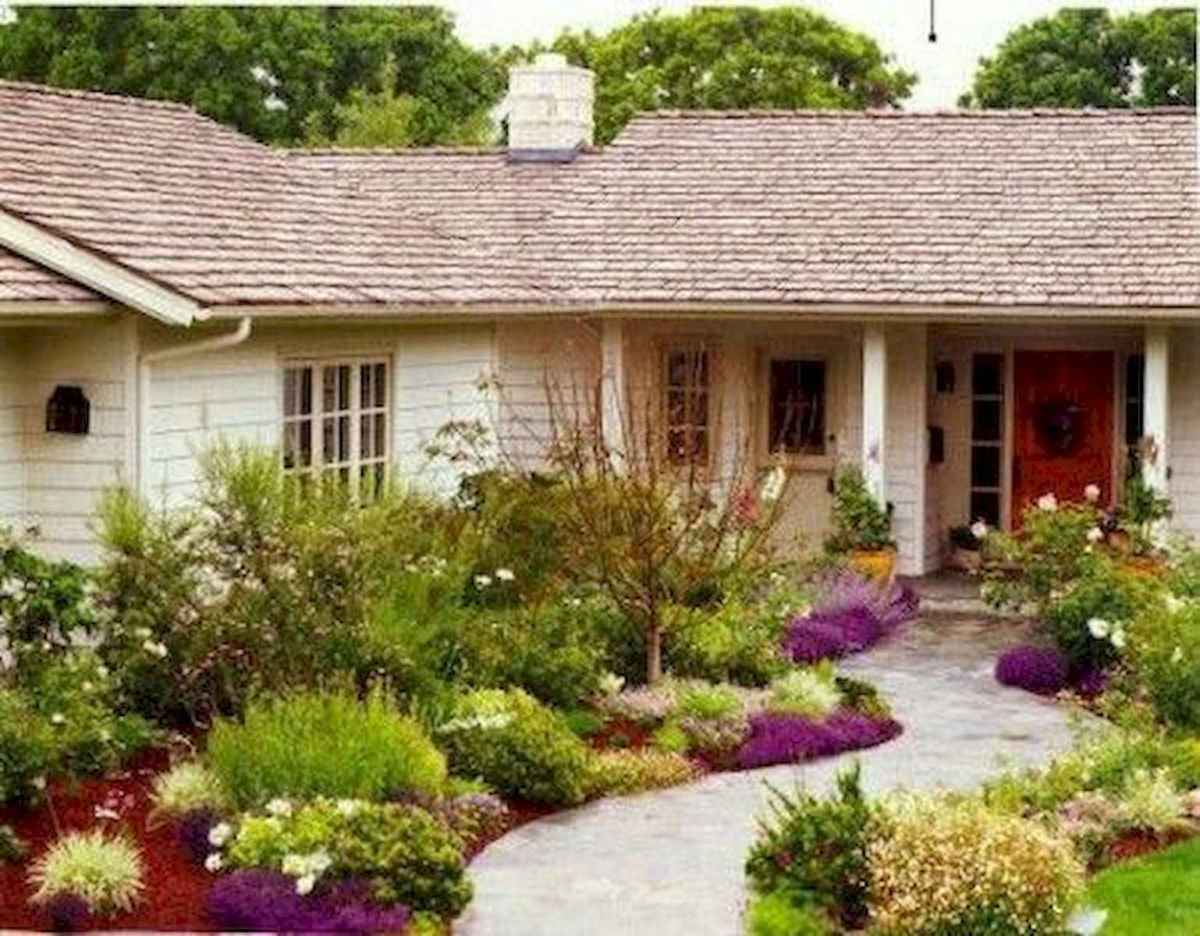 40 Cool Front Yard Garden Landscaping Design Ideas And Remodel (29)