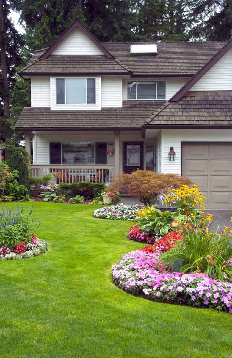 40 Cool Front Yard Garden Landscaping Design Ideas And Remodel (3)