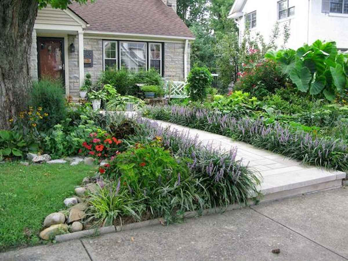 40 Cool Front Yard Garden Landscaping Design Ideas And Remodel (32)