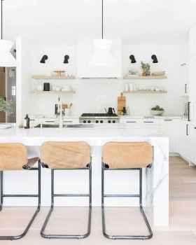 50 Best Modern Farmhouse Kitchen Island Decor Ideas (15)