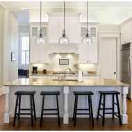 50 Best Modern Farmhouse Kitchen Island Decor Ideas (16)