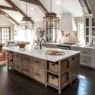 50 Best Modern Farmhouse Kitchen Island Decor Ideas (4)
