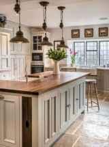 50 Best Modern Farmhouse Kitchen Island Decor Ideas (42)