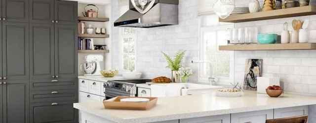 50 Best White Kitchen Design Ideas To Inspiring Your Kitchen (30)