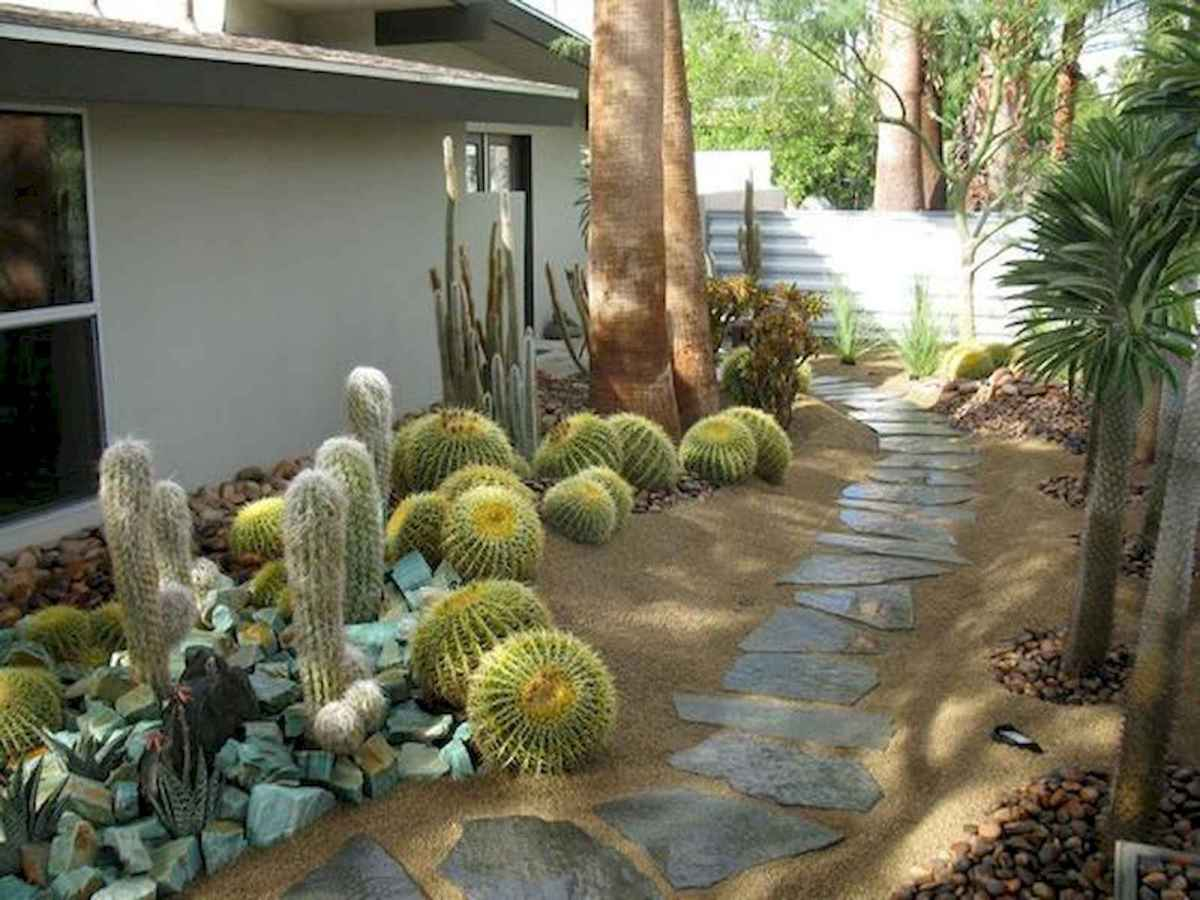 50 Fabulous Side Yard Garden Design Ideas And Remodel (47)