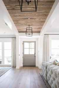 50 Stunning Farmhouse Entryway Design Ideas You Must Try In 2019 (46)