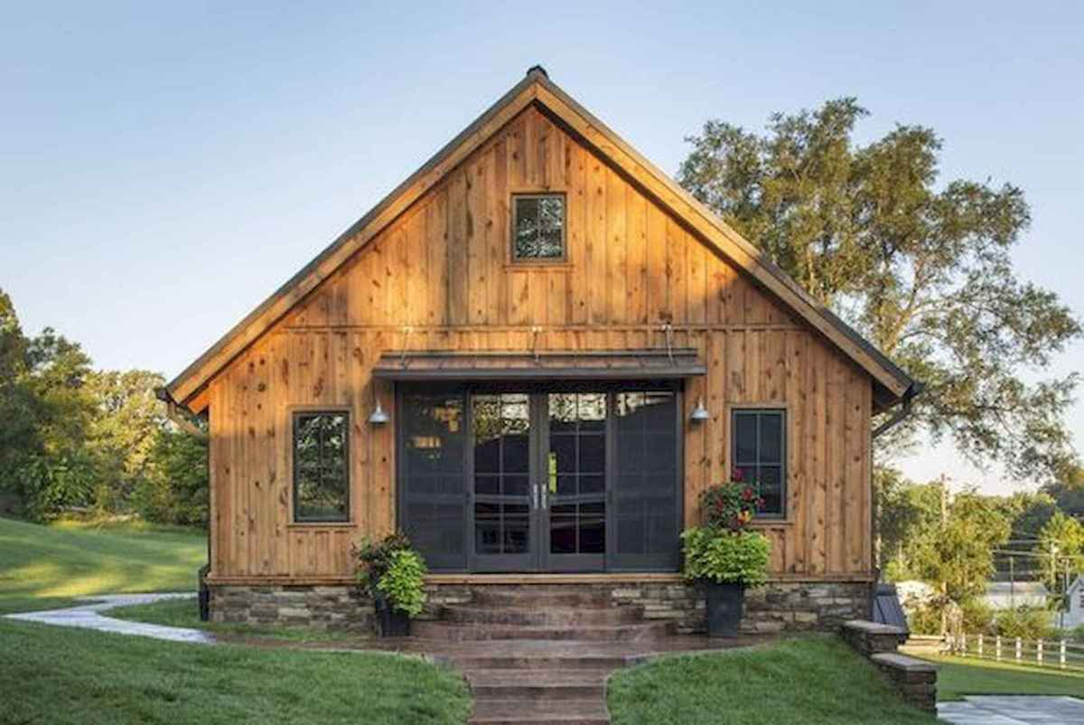 40 Best Log Cabin Homes Plans One Story Design Ideas (1)