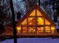 40 Best Log Cabin Homes Plans One Story Design Ideas (22)