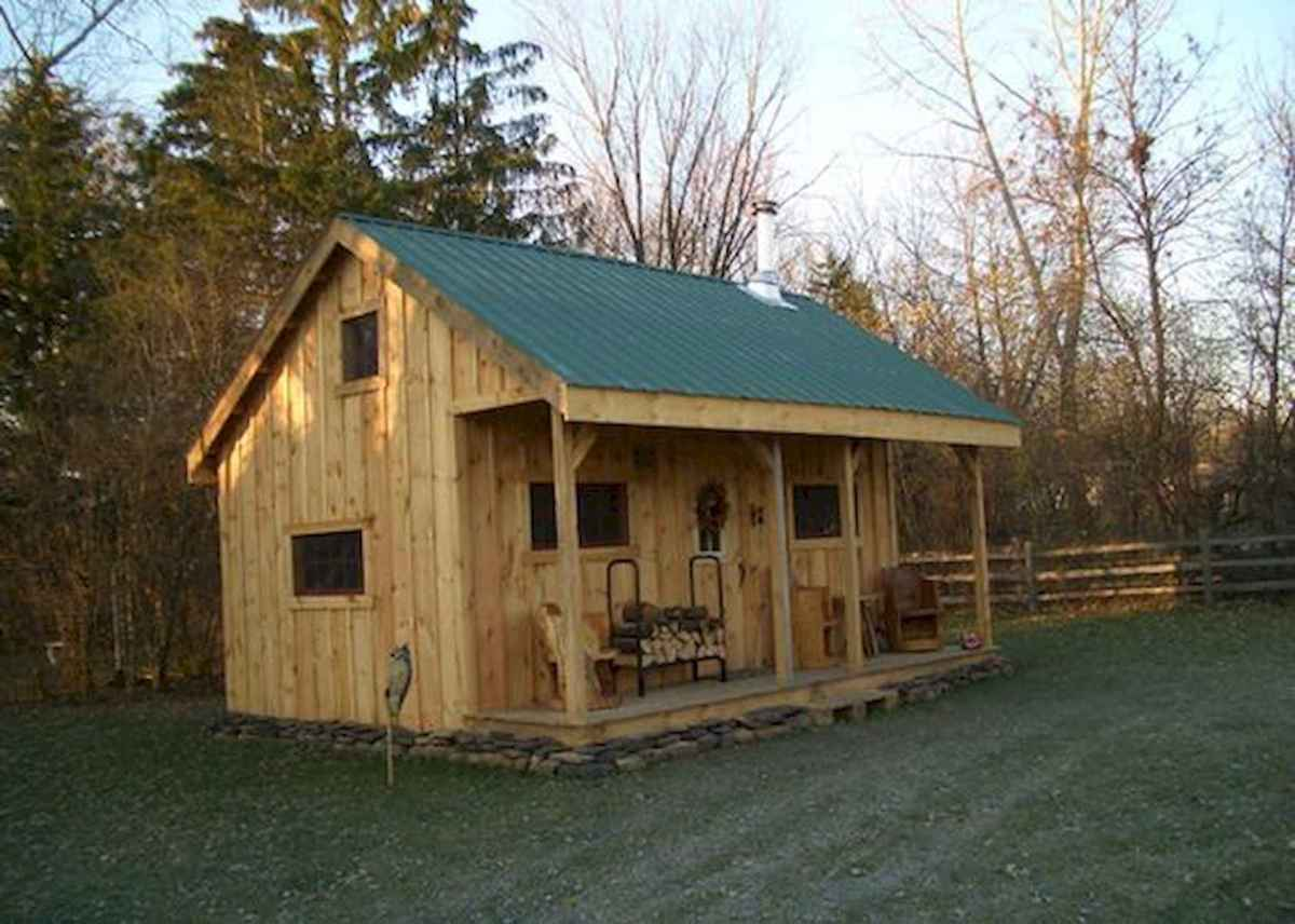 40 Best Log Cabin Homes Plans One Story Design Ideas (26)