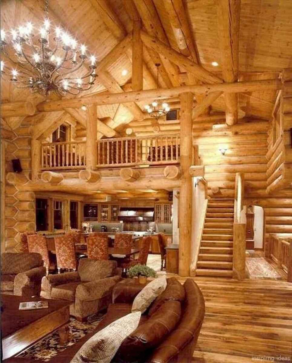 50 Best Log Cabin Homes Modern Design Ideas (12)